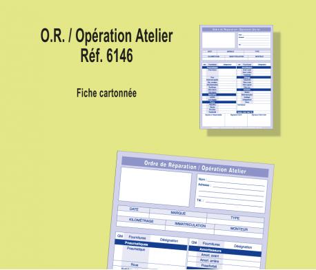 Ordre Réparation / Opération Atelier