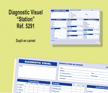 Registre Diagnostic Visuel