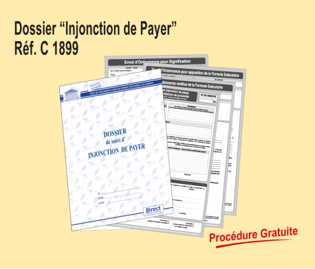 Dossier Injonction de Payer