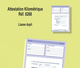 Attestation Kilométrique