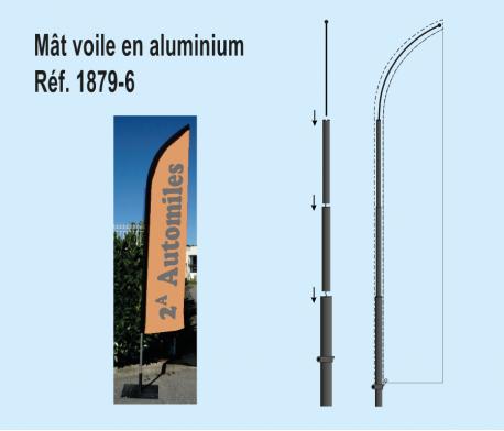 Mât Voile Aluminium