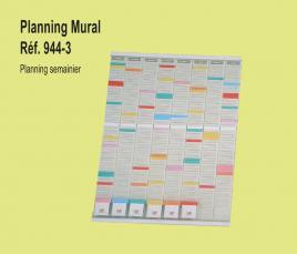 Planning Mural Semainier