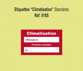 Etiquette Climatisation