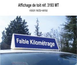 Affichage Toit Faible Kilométrage