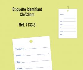 Porte Clé identifiant Client