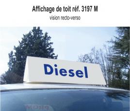 """Affichage de Toit """"Diesel"""" standard"""