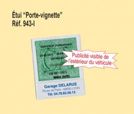 Porte Vignette Grand Format Personnalisé