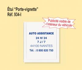 Porte Vignette Automobile
