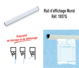 Rail d'affichage d'O.R.