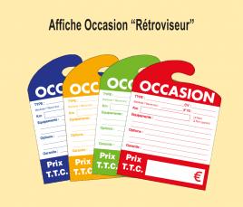 Affichage OCCASION Carton
