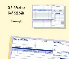 Ordre de Réparation/ Facture