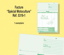 Facture Motoculture