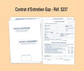 Contrat Enttretien Gaz