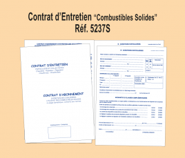 Contrat Entretien Combustibles Solides