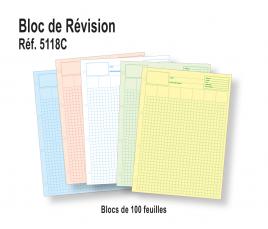 Feuilles de Révision Multi-usage - Bloc de 100