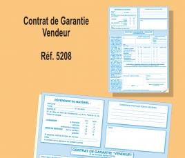 Contrat de Garantie Vendeur
