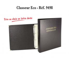 Classeur registre 4 anneaux vierge