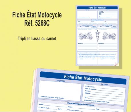 Fiche Etat Motocycle