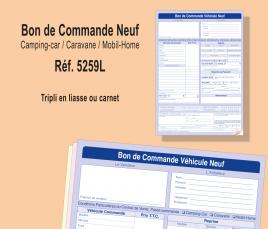 Bon de Commande VN - Camping-Car / Caravane / Mobil-Home