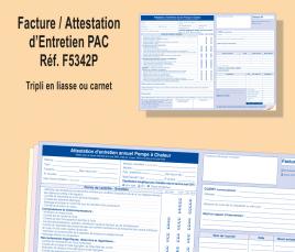 Facture / Attestation d'Entretien PAC