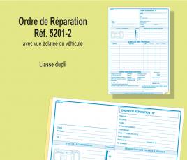 Ordre de Réparation Dupli avec schéma
